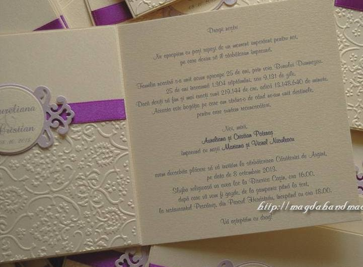 Text Invitatie Nunta 25 Ani
