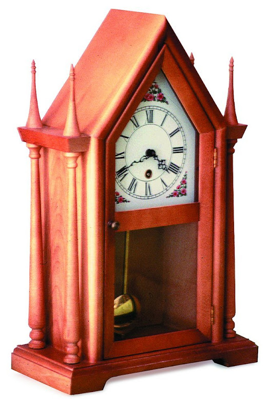 Steeple Clock Woodworking Plans