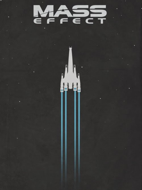 Mass Effect Posters by Colin Morella