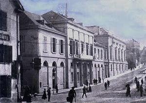 Il palazzo dove si è tenuto il Congresso, a Basilea (Svizzera)