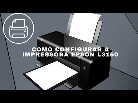 Como Configurar a impressora EPSON L3150