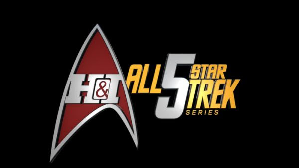 All 5 Star Trek Series on Heroes & Icons Network