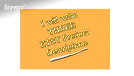 I will write 3 Etsy Product Descriptions for your store