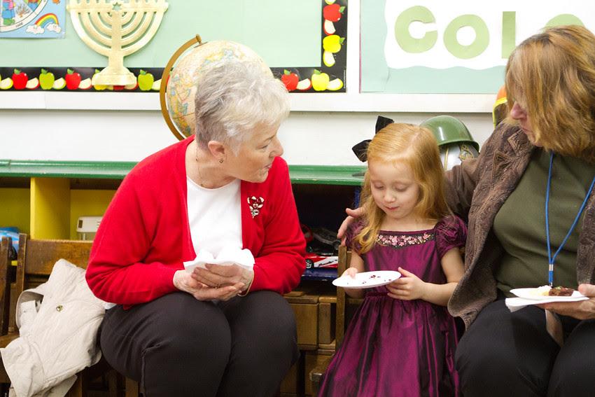 snack with grandmas