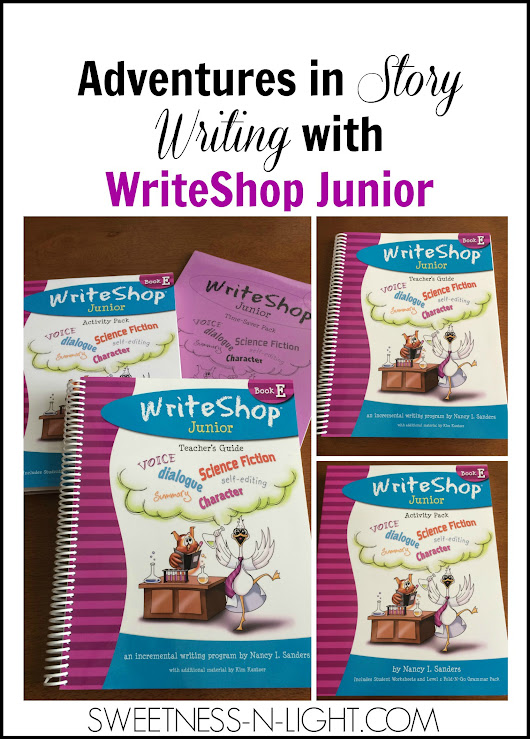 Adventures in Story Writing with WriteShop Junior - Sweetness-n-Light