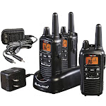 Midland LXT633VP3 30-mile 36-Channel Two-way Radio 3 Pack - FRS/GMRS - 10 NOAA Channels - Waterproof