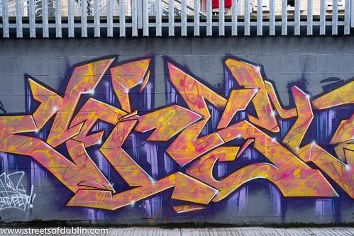 Dublin Street Art (New) - Ormond Place by infomatique