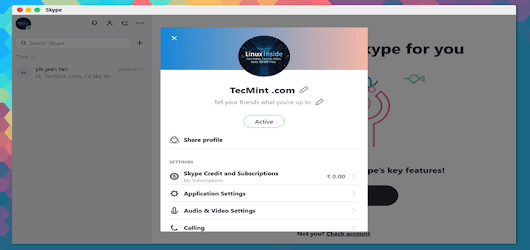How to Install Skype 8.13 on Debian, Ubuntu and Linux Mint