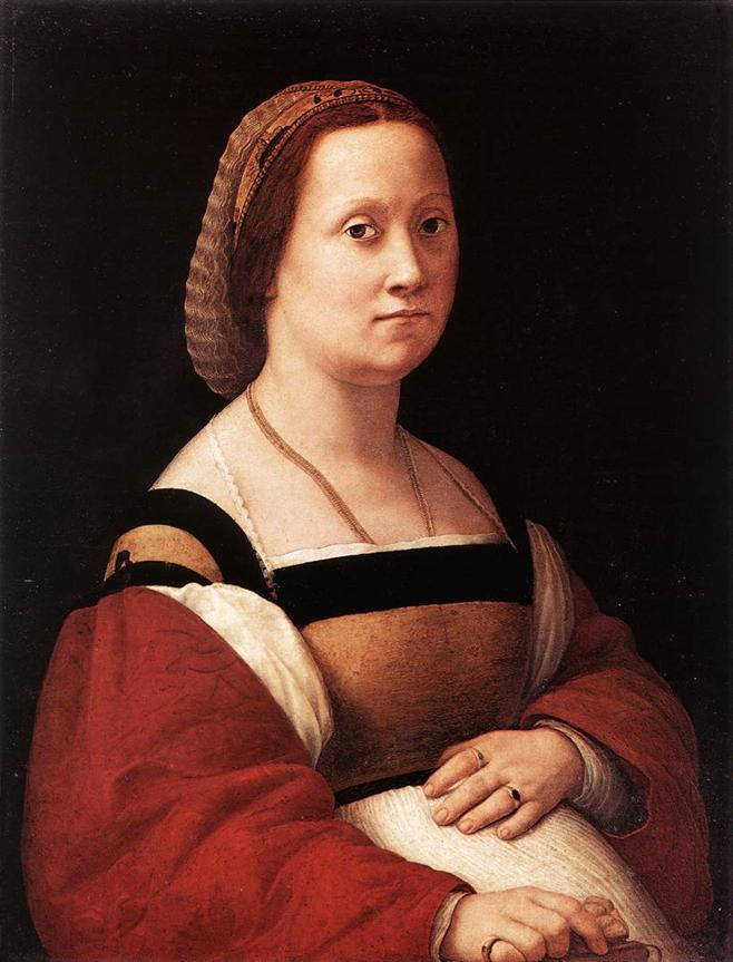 https://upload.wikimedia.org/wikipedia/commons/f/fe/Raphael-LaDonnaGravida%281505-1506%29.jpg