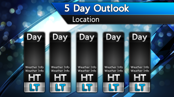 7 Day Weather Forecast Template Related Keywords & Suggestions - 7 ...