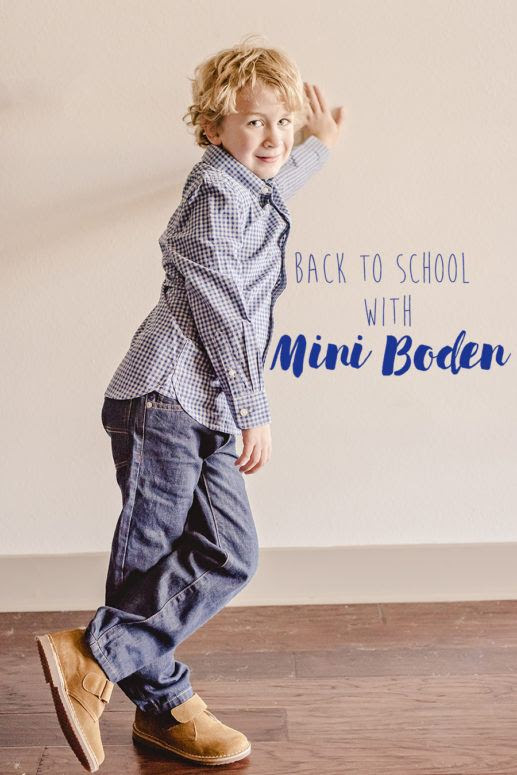 Back to School in Style with Mini Boden + Enter to WIN a $500 Boden Shopping Spree! -