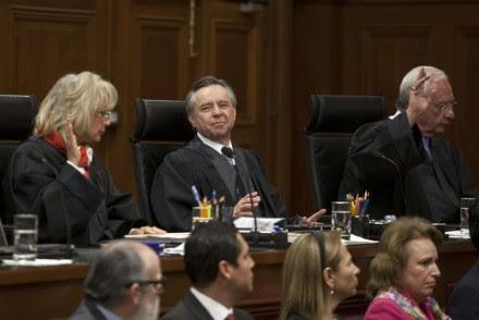 Sesión de la Suprema Corte de Justicia. Foto: Germán Canseco