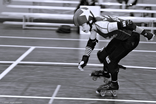 the life of a rollergirl is always intense.