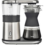 Brim - 8-Cup Electric Pour Over Coffee Maker - Stainless Steel