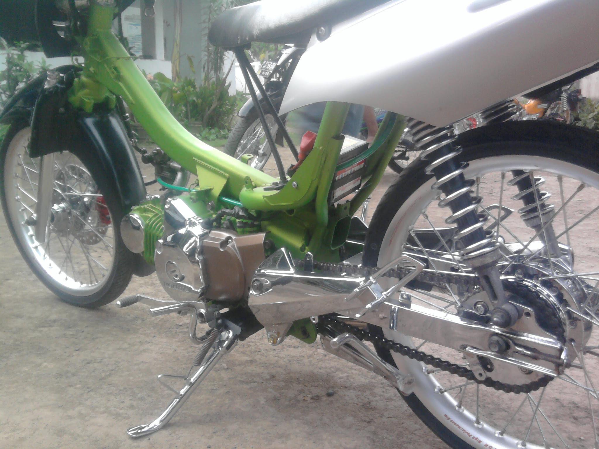 Bengkel Modifikasi Honda Karisma Modifikasi