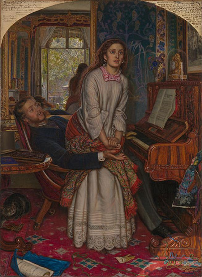 File: William Holman Hunt - Consciência do Despertar - Google Art Project.jpg
