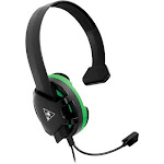 Turtle Beach Recon Chat Headset - Xbox - Mono - Mini-phone - Wired - 80 Hz - 10 kHz - Over-the-head - Monaural - Circumaural - Omni-directional Microp