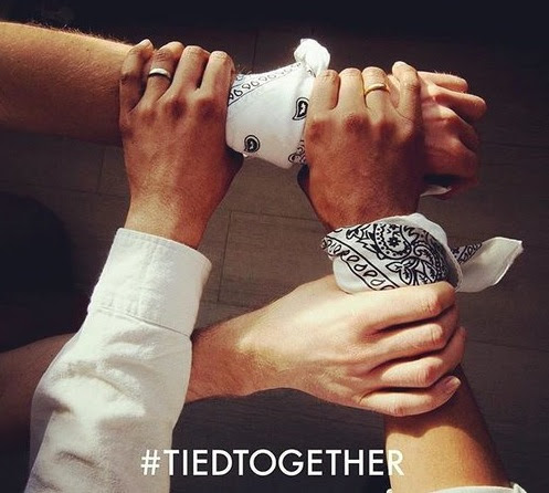 Tied Together (#tiedtogether) - A moda a favor da humanidade - Não Pira, Desopila