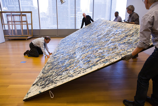 Jackson Pollock's 'One: Number 31, 1950' Restored by MoMA