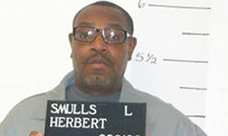 In this Dec. 13, 2011 file photo released by the Missouri Department of Corrections is death-row inmate Herbert Smulls who is scheduled to die by injection one minute after midnight Wednesday, Jan. 29, 2014 for killing St. Louis County jeweler Stephen Hon by Pan-African News Wire File Photos