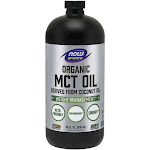 Now Foods Organic MCT Oil - 32 Fluid Ounces