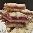 Strawberry Cream Cheese Shortbread Bars | Lark's Country Heart