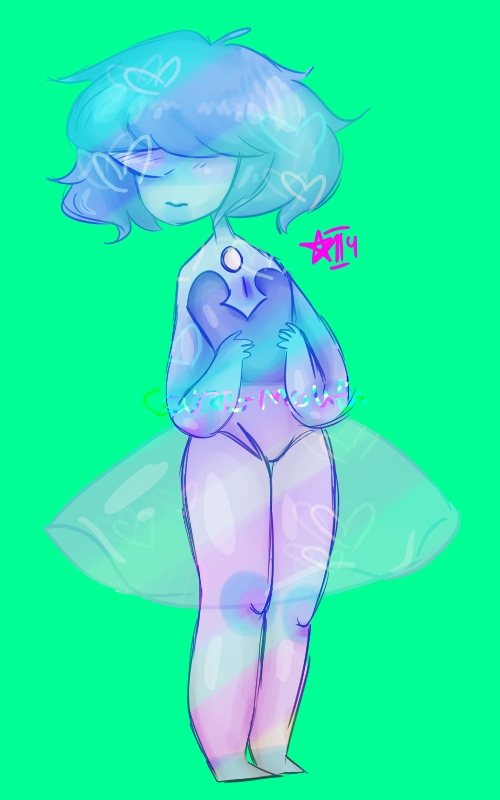 Thicc blue pearl :3c