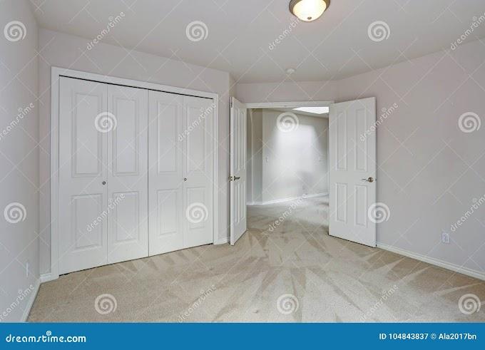 Beautiful Bedroom Empty Room With Carpet wallpaper