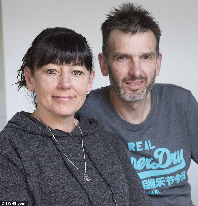 Louise Windsor is now able to tell her husband off for eating too noisily after a cochlear implant meant she is now able to hear for the first time