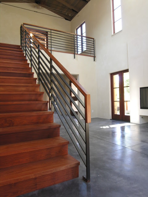 Vineyard Residence - Contemporary - Staircase - San Francisco - by chadbourne + doss architects