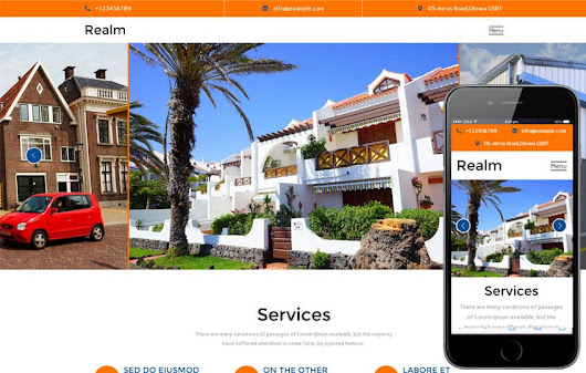 Realm A Real Estate Category Flat Bootstrap Responsive Web Template