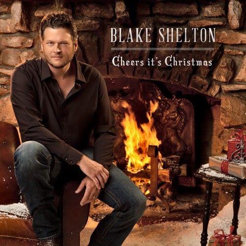 Cheers It's Christmas (Album Cover), Blake Shelton