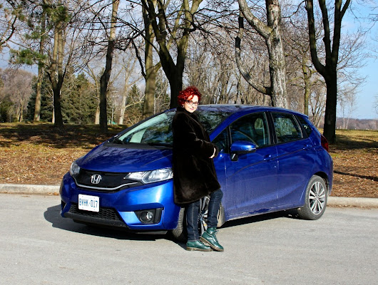 And the 2015 Honda Fit is the cat's meow!