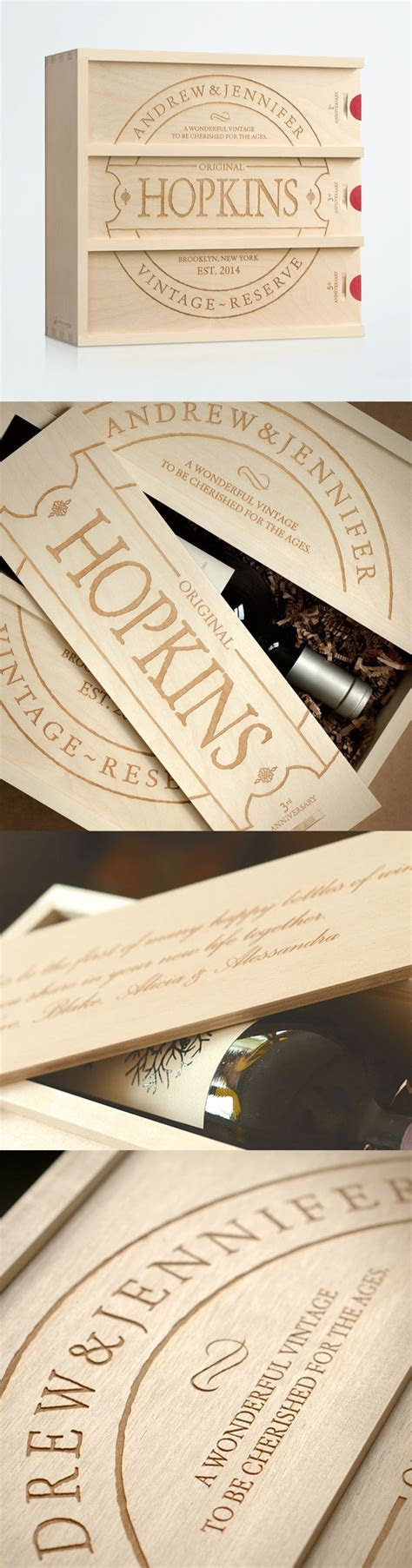 Family Vintage   Anniversary Wine Box   Anniversary