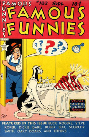 Famous Funnies #182