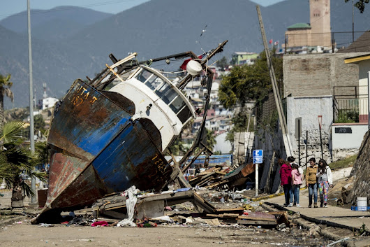 Powerful Earthquake Rocks Chile
