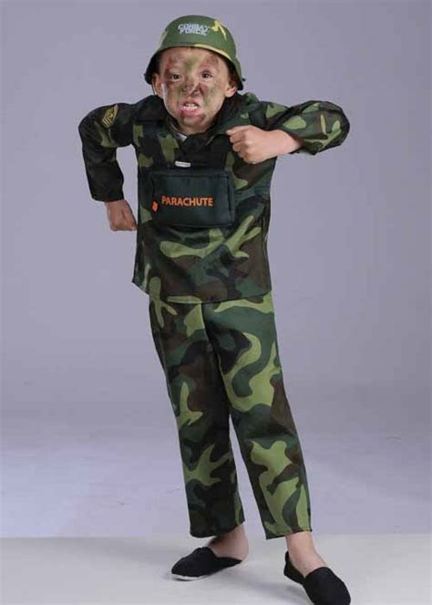 Childs Army Soldier Costume