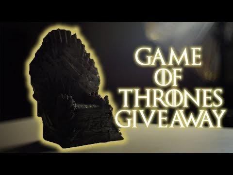 Νέος διαγωνισμός του Hellas Android με δώρο έναν 3D printed Iron throne του Game of Thrones