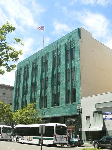 Art Deco Buildings Former I Magnin Department Store Oakland