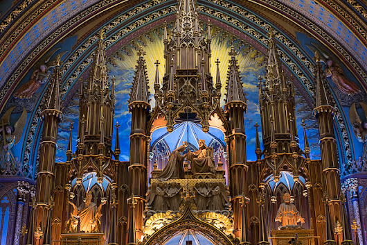 The Notre-Dame Basilica | For 91 Days in Montreal – Travel Blog