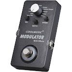 electric guitar digital modulator effect pedal with 11 modulation effects true bypass full metal shell