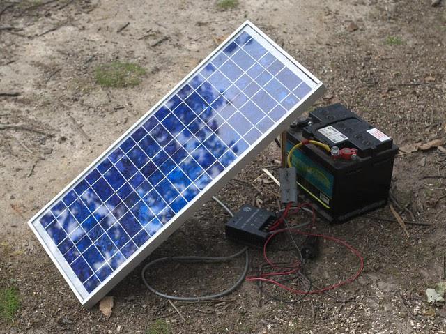 DSC_4173 Solar power in the woods