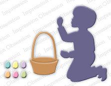 Boy with Easter Basket