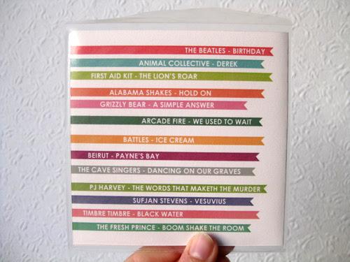birthday mix cd