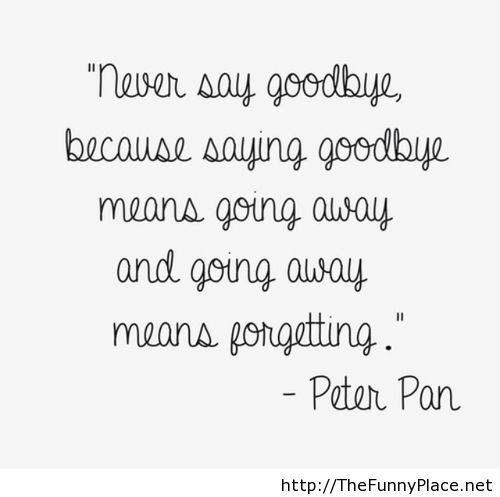Peter Pan Quotes Thefunnyplace