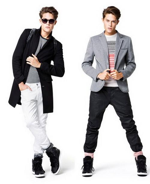 8a9aa6d29 ازياء شباب كاجوال 2014 , winter fashion for young men 2014 , ازياء ...