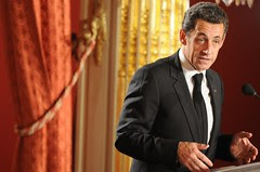 First day of 2008 at the Elysée Palace 2