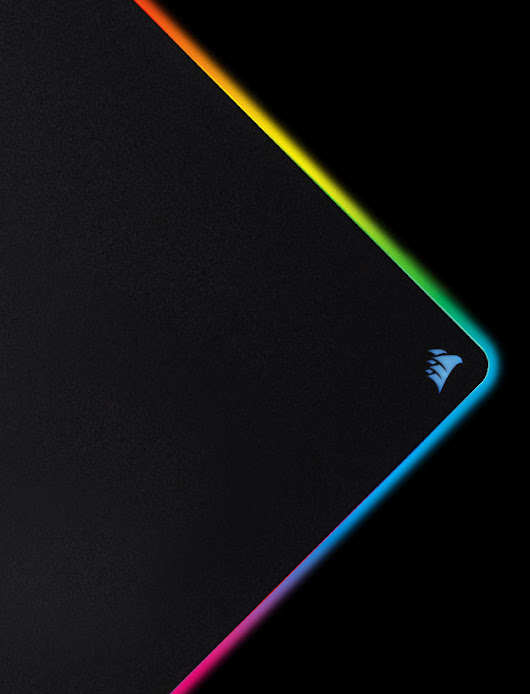MM800 RGB POLARIS GAMING MOUSE PAD - LIGHT UP THE PLAYING FIELD.