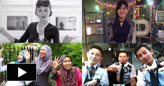 [VIDEO] Elizabeth Tan, Daphne Iking & Other Malaysians Sing The Best Raya Song Ever