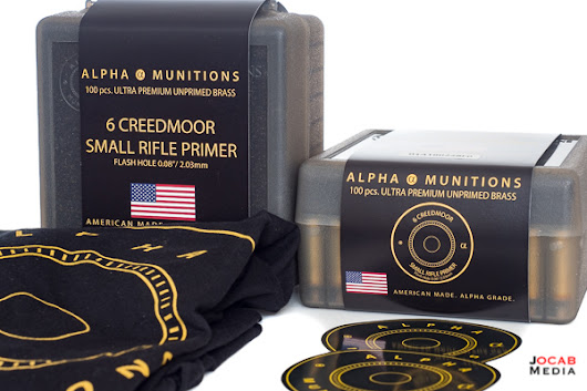 Alpha Munitions 6mm Creedmoor Small Rifle Primer Brass Review